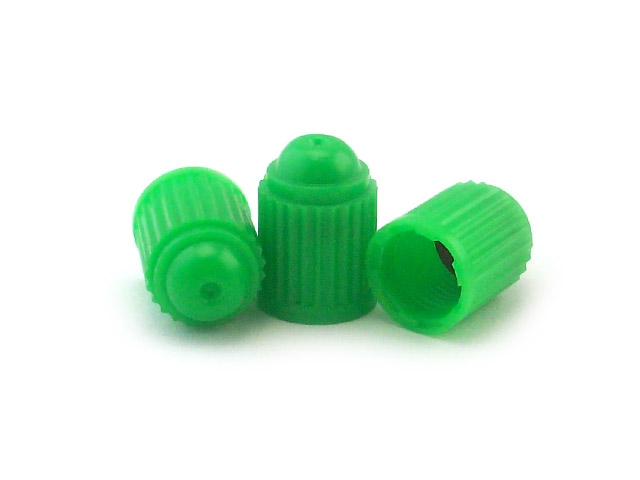 Spring Green Valve Caps [bag of 1000]