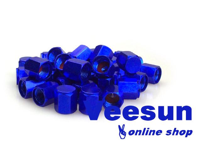Blue Valve Stem Caps [bag of 150]