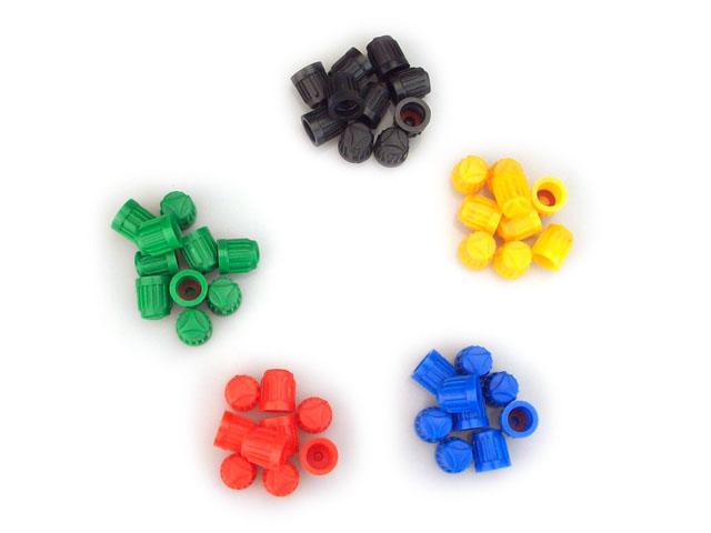 Colorful Valve Stem Cap Kit [500PCS]