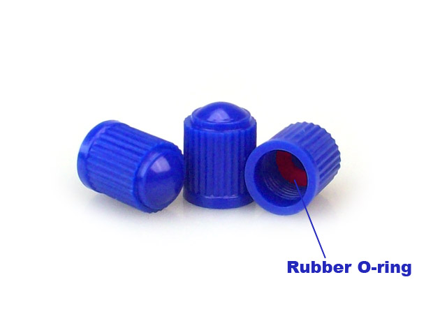 Blue Valve Stem Caps [bag of 1000]