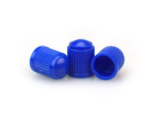 Blue Tire Valve Caps [bag of 1000]