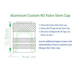Aluminum Anodized N2 Caps...