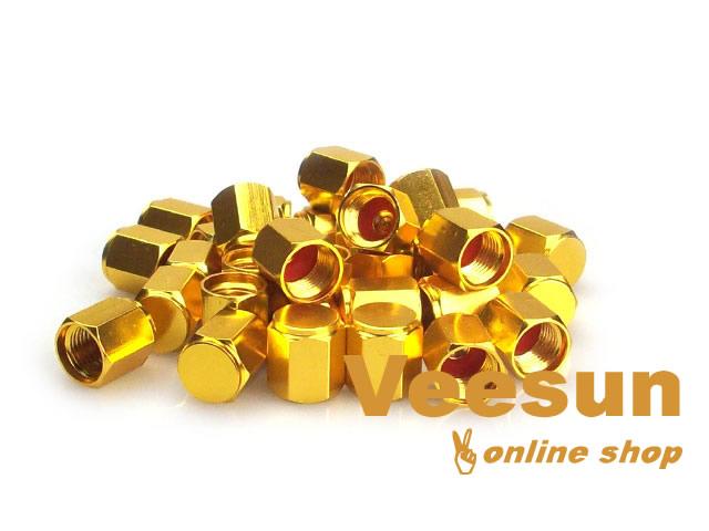Golden Valve Stem Cap [bag of 150]