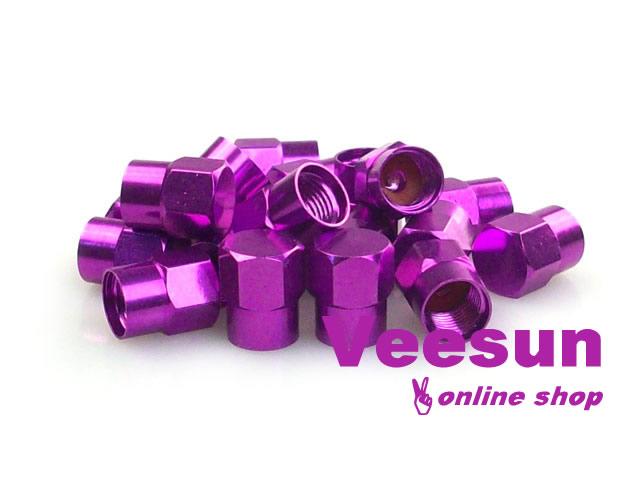 Purple Tire Valve Caps [bag of 150]