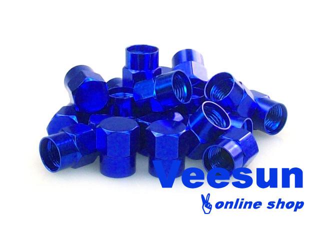 Blue Tire Valve Caps [bag of 150]
